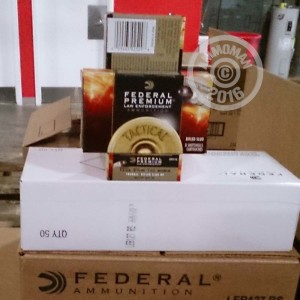 "Picture of 12 GAUGE FEDERAL PREMIUM TACTICAL TRUBALL 2-3/4"" 1 OZ. RIFLED SLUG (250 ROUNDS)"