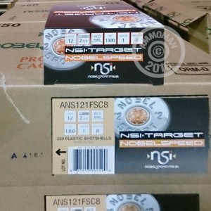 "Picture of 12 GAUGE NOBLE SPORT TARGET LOAD 2-3/4"" #8 SHOT (25 ROUNDS)"