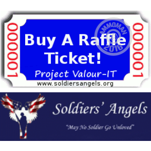 Picture of Project Valour-IT Raffle Fundraiser