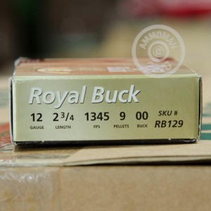 """Picture of 12 GAUGE RIO ROYAL 2-3/4"""" 00 BUCK (5 SHELLS)"""