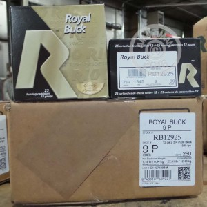 "Picture of 12 GAUGE RIO BUCK ROYAL 2-3/4"" 00 BUCK 9P (250 ROUNDS)"
