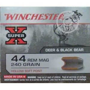 Picture of 44 MAGNUM WINCHESTER 240 GRAIN HSP (20 ROUNDS)