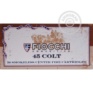 Picture of 45 LONG COLT FIOCCHI 250 GRAIN LRNFP (500 ROUNDS)