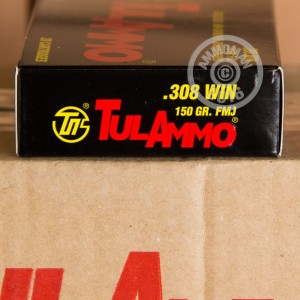 Picture of 308 WIN TULA 150 GRAIN FULL METAL JACKET (20 ROUNDS)