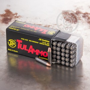 Picture of 30 CARBINE TULA 110 GRAIN FMJ (1000 ROUNDS)