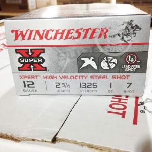 "Picture of 12 GAUGE WINCHESTER XPERT 2-3/4"" #7 STEEL SHOT #WE12GT7 (250 ROUNDS)"