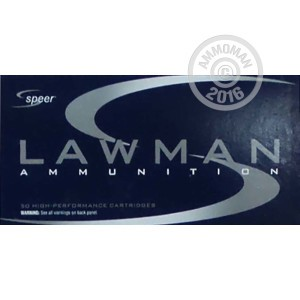 Picture of 38 SPECIAL SPEER LAWMAN 125 GRAIN TMJ (1000 ROUNDS)