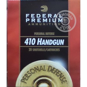 """Picture of 410 BORE FEDERAL 3"""" #4 BUCK (20 ROUNDS)"""