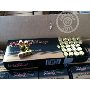 Picture of 40 SMITH & WESSON 165 GRAIN PMC #40D (1000 ROUNDS)