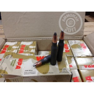 Picture of .308 WOLF 140 GRAIN SOFT POINT (500 ROUNDS)