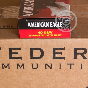 Picture of FEDERAL 40 S/W 165 GRAIN #AE40R3 (1000 ROUNDS)