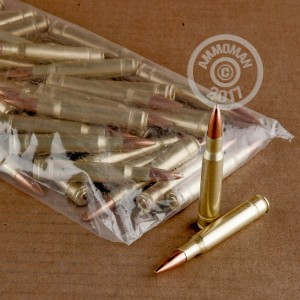 Picture of 30-06 SPRINGFIELD MIXED BRASS AND NICKEL PLATED (50 ROUNDS)