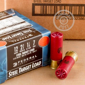 #7 shot shotgun rounds for sale at AmmoMan.com - 250 rounds.