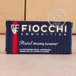 Picture of 9MM LUGER FIOCCHI 124 GRAIN JHP (1000 ROUNDS)