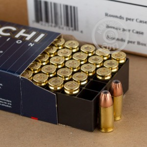 Picture of 9MM LUGER FIOCCHI 124 GRAIN JHP (50 ROUNDS)