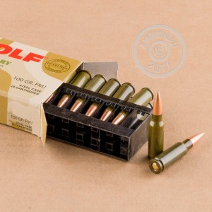 Picture of 6.5MM GRENDEL WOLF 100 GRAIN FMJ (500 ROUNDS)