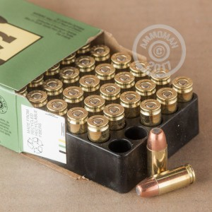 Picture of 9MM LUGER REMINGTON LEADLESS 124 GRAIN FNEB (500 ROUNDS)
