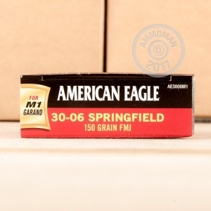 Picture of .30-06 FEDERAL AMERICAN EAGLE 150 GRAIN FMJ (200 ROUNDS)
