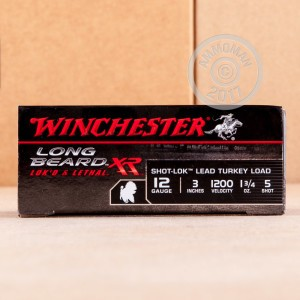 """Picture of 12 GAUGE WINCHESTER LONG BEARD XR 3"""" #5 SHOT (10 ROUNDS)"""