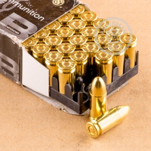Picture of 9MM LUGER SELLIER & BELLOT 124 GRAIN FMJ (1000 ROUNDS)