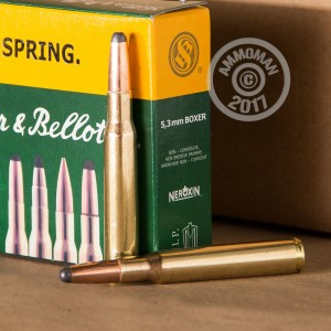 Picture of .30-06 SPRINGFIELD SELLIER & BELLOT 180 GRAIN SP (20 ROUNDS)