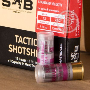 Picture of 12 GAUGE SELLIER & BELLOT SV TACTICAL SLUG (10 ROUNDS)