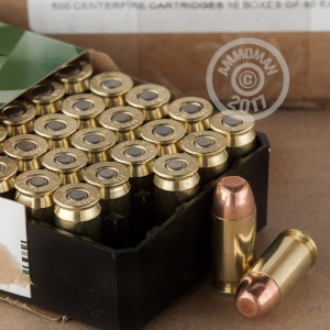 Picture of 45 ACP REMINGTON 185 GRAIN METAL CASE (500 ROUNDS)