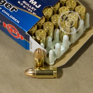 Picture of 9mm - 124 gr FMJ - Prvi Partizan  - 2000 Rounds