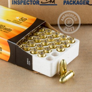 Picture of 380 AUTO ARMSCOR 95 GRAIN FMJ (50 ROUNDS)