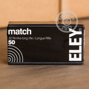 Picture of 22 LR ELEY 40 GRAIN LFN (50 ROUNDS)
