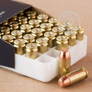 Picture of 40 SMITH & WESSON SPEER 180 GRAIN FMJ #53652 (50 ROUNDS)