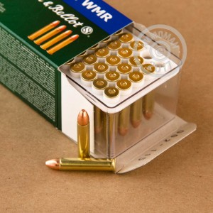 Picture of 22 MAGNUM SELLIER & BELLOT 40 GRAIN FMJ (50 ROUNDS)