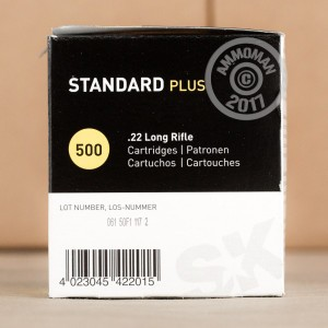 Picture of .22 LR SK STANDARD PLUS 40 GRAIN LRN (50 ROUNDS)