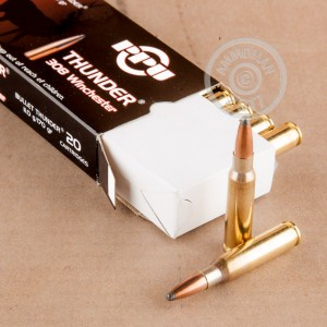 Picture of 308 WIN PRVI PARTIZAN THUNDER 170 GRAIN SP (20 ROUNDS)