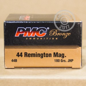 Picture of .44 MAGNUM PMC BRONZE 180 GRAIN JHP (25 ROUNDS)