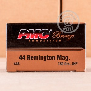 Picture of .44 MAGNUM PMC BRONZE 180 GRAIN JHP (500 ROUNDS)