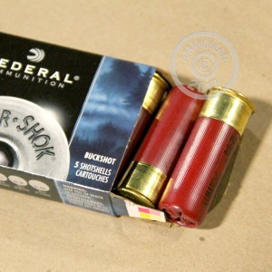 """Picture of 12 GAUGE FEDERAL PREMIUM POWER-SHOK 2-3/4"""" 00 BUCK (5 ROUNDS)"""