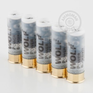 "Picture of 12 ga - 2-3/4"" 00 Buck - 9 Pellets - Wolf - 250 Rounds"