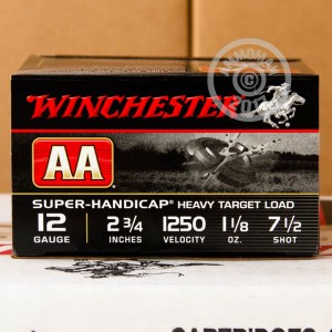 "Picture of 12 GAUGE 2 3/4"" WINCHESTER AA SUPER-HANDICAP #7-1/2 (250 ROUNDS)"