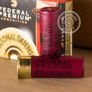 "Picture of 12 GAUGE FEDERAL WITH FLITECONTROL WAD 2 3/4"" 00 BUCK 9 PELLETS (5 ROUNDS)"
