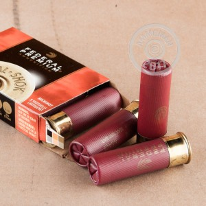 "Picture of 12 GAUGE FEDERAL VITAL-SHOK 3"" #4 BUCKSHOT (5 ROUNDS)"