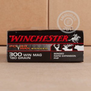 Picture of 300 WIN MAG WINCHESTER POWER MAX BONDED 180 GRAIN PHP (20 ROUNDS)