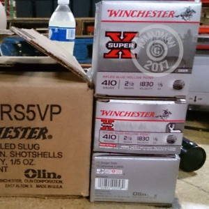 "Picture of 410 BORE WINCHESTER SUPER-X 2-1/2"" 1/5 OZ SLUG (5 ROUNDS)"