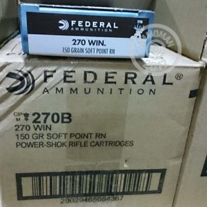 Picture of 270 WIN FEDERAL POWER-SHOK 150 GRAIN SP (20 ROUNDS)