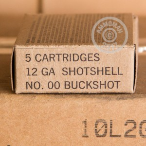 "Picture of 12 GAUGE WINCHESTER MIL-SPEC 2-3/4"" 00 BUCK (5 ROUNDS)"