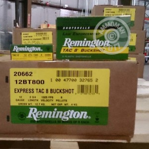 "Picture of 12 GAUGE REMINGTON EXPRESS TAC 8 2-3/4"" 00 BUCK (5 ROUNDS)"