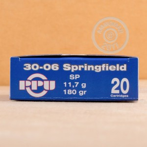 Picture of 30-06 PRVI PARTIZAN 180 GRAIN SOFT POINT (500 ROUNDS)