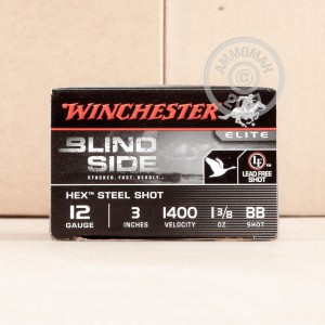 "Picture of 12 GAUGE WINCHESTER ELITE BLIND SIDE 3"" 1 3/8 OZ. #BB SHOT (25 ROUNDS)"