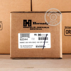 Picture of 300 WIN MAG HORNADY AMERICAN WHITETAIL 180 GRAIN INTERLOCK (20 ROUNDS)