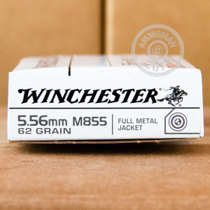 Picture of 5.56 NATO WINCHESTER M855 62 GRAIN FMJ (20 ROUNDS)